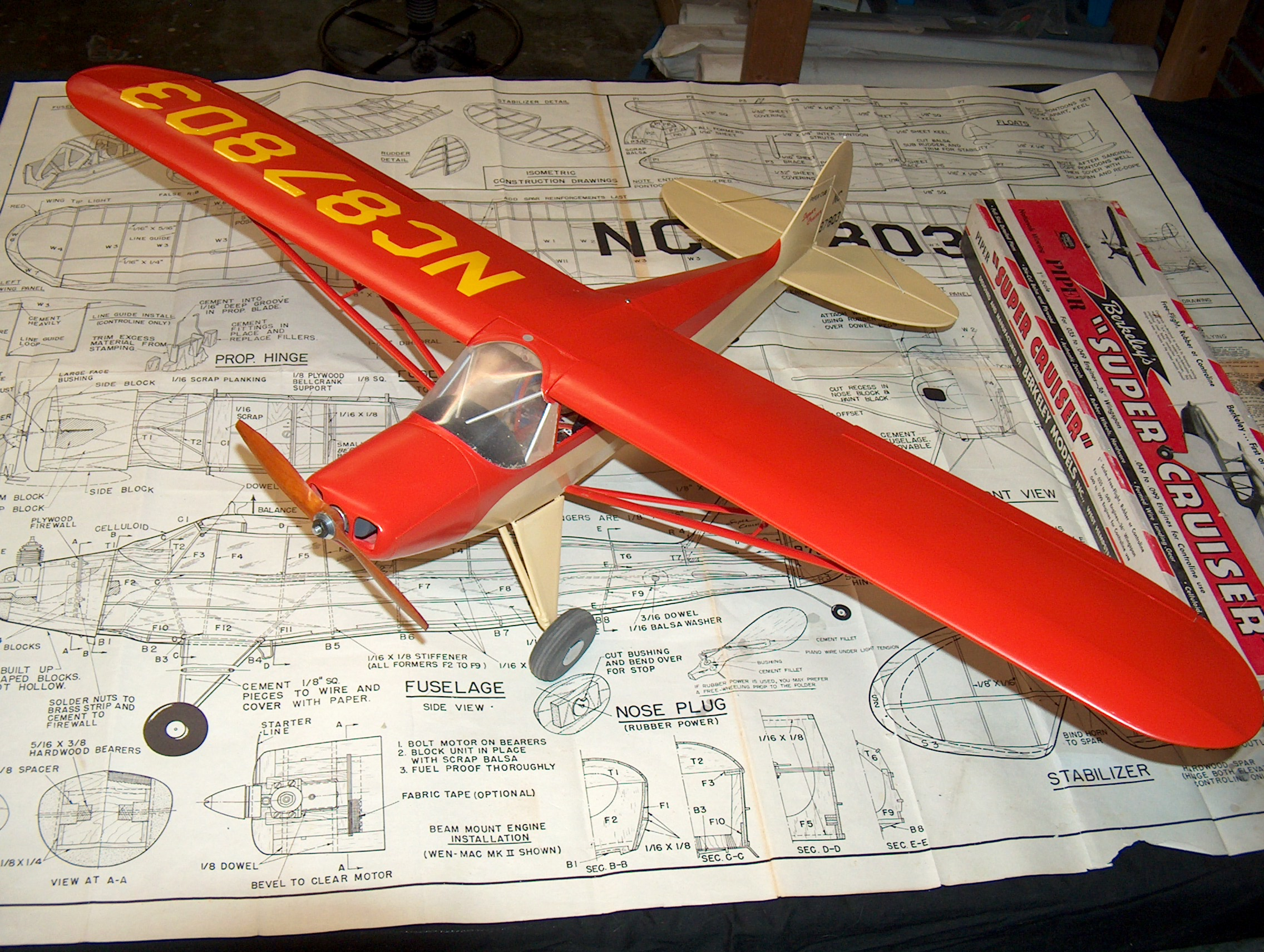 do you remember berkeley kits if you were aware of model airplanes ...